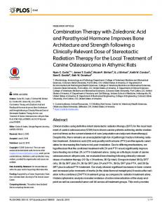 Combination Therapy with Zoledronic Acid and Parathyroid Hormone ...