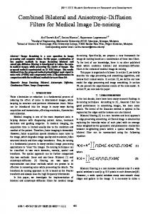 Combined Bilateral and Anisotropic-Diffusion Filters for Medical Image ...