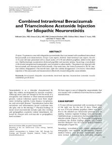 Combined Intravitreal Bevacizumab and ...
