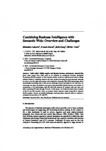 Combining Business Intelligence with Semantic Web - Institut de ...