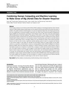 Combining Human Computing and Machine Learning to Make Sense ...
