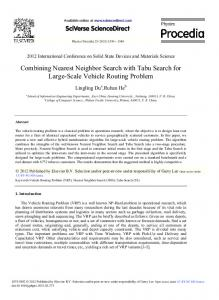 Combining Nearest Neighbor Search with Tabu Search for ... - Core