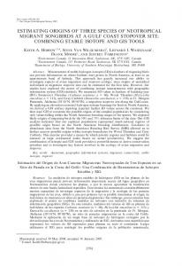 combining stable isotope and - BioOne