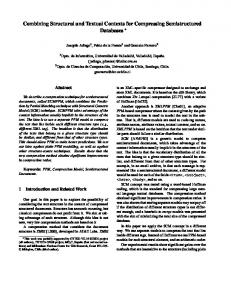 Combining Structural and Textual Contexts for Compressing ...