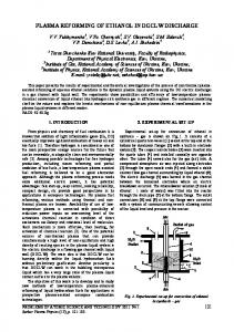 combustion of ethanol+air mixture supported by transverse arc plasma