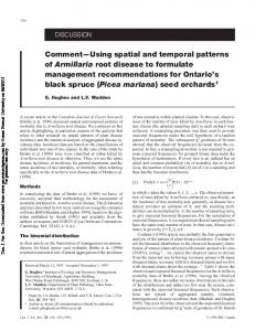 Comment-Using spatial and temporal patterns of