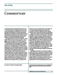Commentary - Federal Reserve Bank of New York