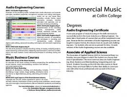 Commercial Music - Collin College