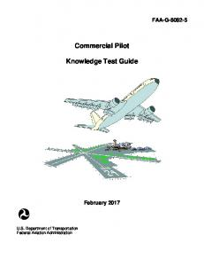 Commercial Pilot Knowledge Test Guide - February 2014