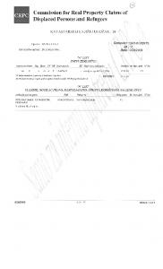Commission for Real Property Claims of Displaced Persons and ...