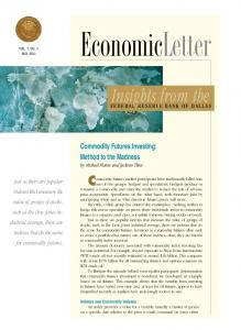 Commodity Futures Investing - Federal Reserve Bank of Dallas
