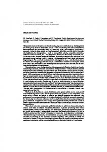 Common Market Law Review - Kluwer Law Online