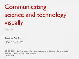 Communicating science and technology (keynote).ppsx