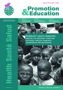 community health promotion - Cedaps