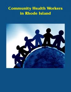 Community Health Workers in RI