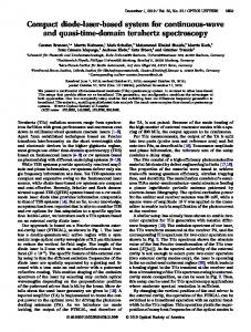 Compact diode-laser-based system for continuous ... - OSA Publishing
