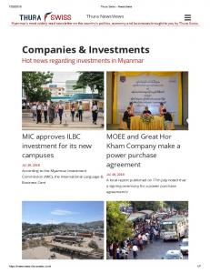 Companies & Investments