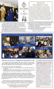 COMPANIONS Of ST. JOSEPH - School Sisters of Christ the King