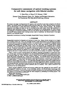 Comparative assessment of optical tracking systems for soft tissue ...