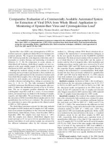 Comparative Evaluation of a Commercially Available Automated ...