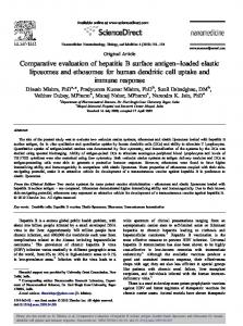 Comparative evaluation of hepatitis B surface antigen