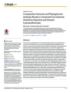 Comparative Genomic and Phylogenomic