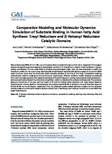 Comparative Modeling and Molecular Dynamics Simulation of ...