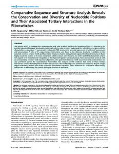 Comparative Sequence and Structure Analysis ... - Semantic Scholar