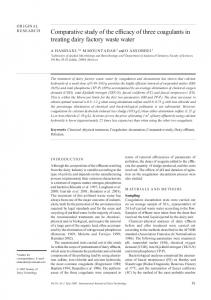 Comparative study of the efficacy of three ... - Wiley Online Library