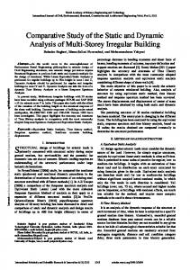 Comparative Study of the Static and Dynamic ... - Semantic Scholar