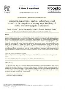 Comparing support vector machines and artificial neural networks in ...