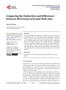 Comparing the Similarities and Differences between