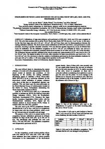comparison between large reference cells calibrated by esti-jrc ... - ECN