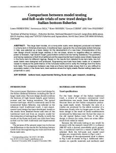 Comparison between model testing and full-scale trials of new ... - Force