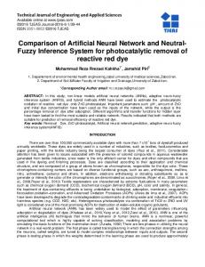 Comparison of Artificial Neural Network and Neutral ...