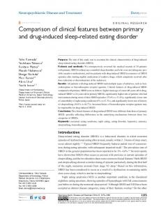 comparison of clinical features between primary ... - Semantic Scholar