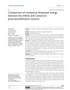 Comparison of cumulative dissipated energy ... - Semantic Scholar