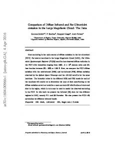Comparison of Diffuse Infrared and Far-Ultraviolet emission in the ...