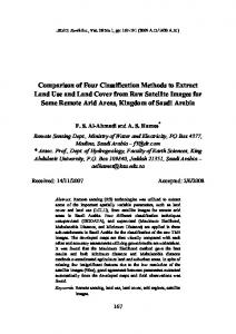 Comparison of Four Classification Methods to Extract Land Use and