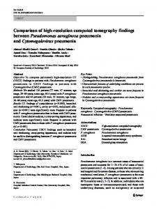 Comparison of high-resolution computed tomography ...