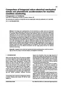Comparison of integrated micro-electrical-mechanical ... - CiteSeerX