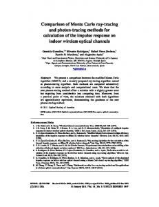 Comparison of Monte Carlo ray-tracing and photon-tracing methods ...