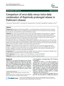 Comparison of once-daily versus twice-daily combination of ...