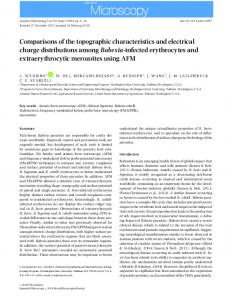Comparisons of the topographic characteristics and ...