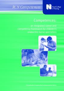 Competences - Royal College of Nursing