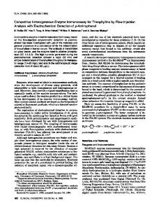 Competitive Heterogeneous Enzyme ... - Clinical Chemistry