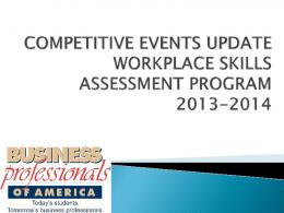 Competitive Results Update - Delaware BPA
