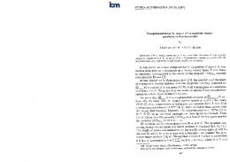 Complementation in spaces of symmetric tensor products and
