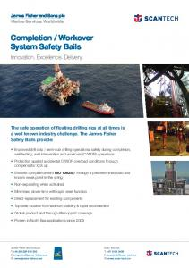 Completion / Workover System Safety Bails - James Fisher & Sons