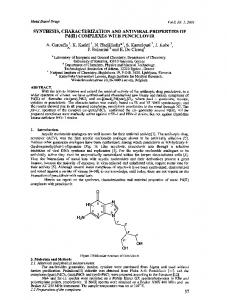 COMPLEXES WITH PENCICLOVIR - Hindawi